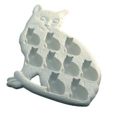 Форма для льда Белый кот