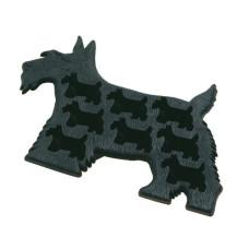 Форма для льда Черный пес